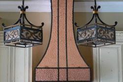 copper vent hoods range hood