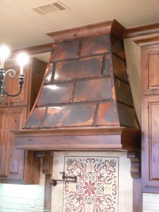 old world copper vent hoods