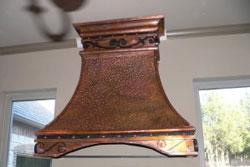 old world copper vent hoods range hood