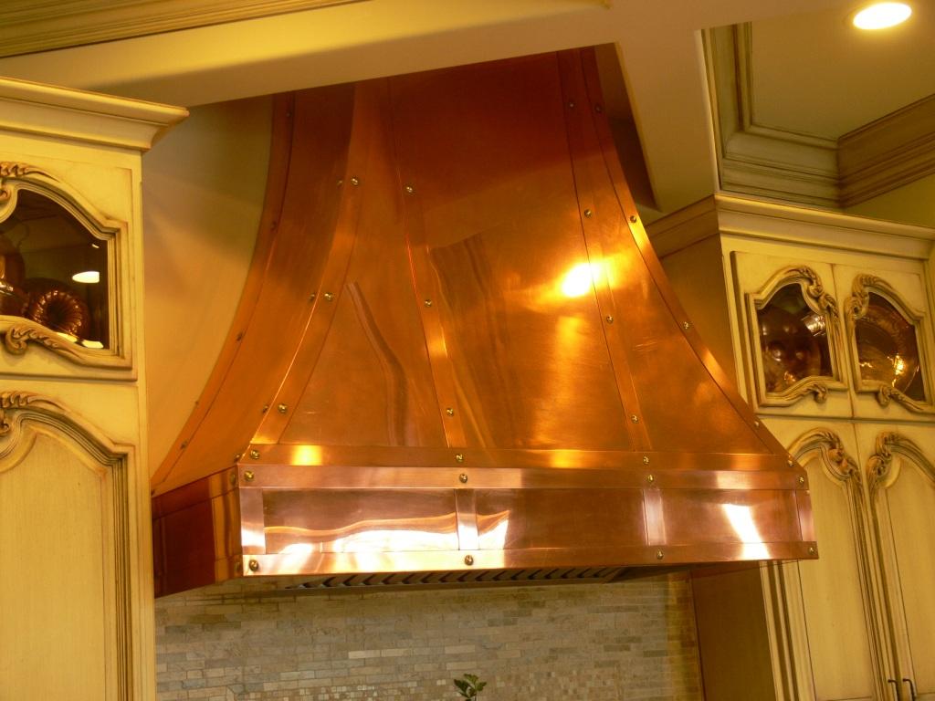 Kitchen range hoods copper - Copper Vent Hoods Range Hood