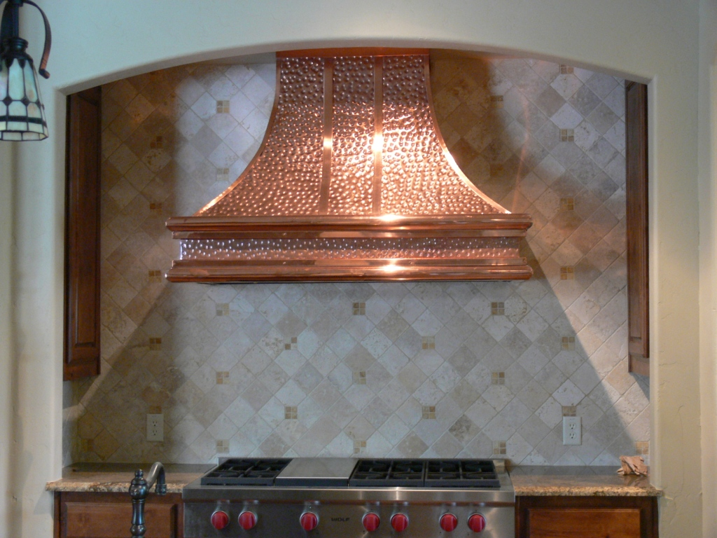 Range Hood 25 Old World Copper Range Hoods Copper Vent