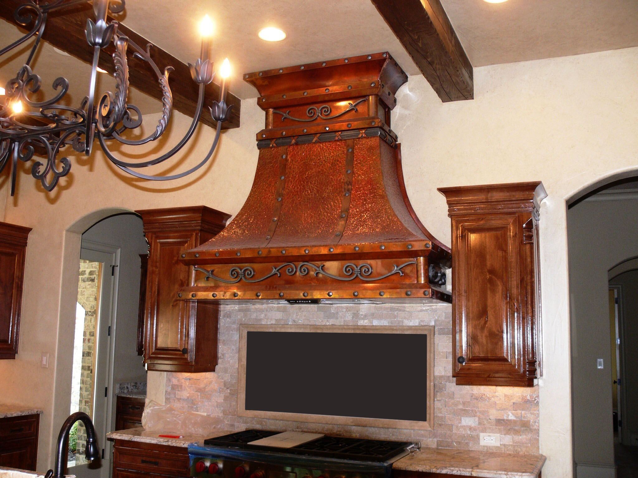 Range Hood 3 Old World Copper Range Hoods Copper Vent